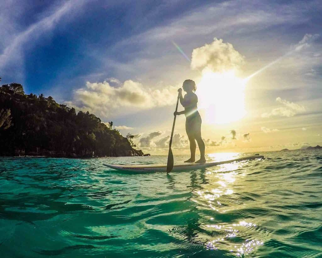seychelles with a Gopro