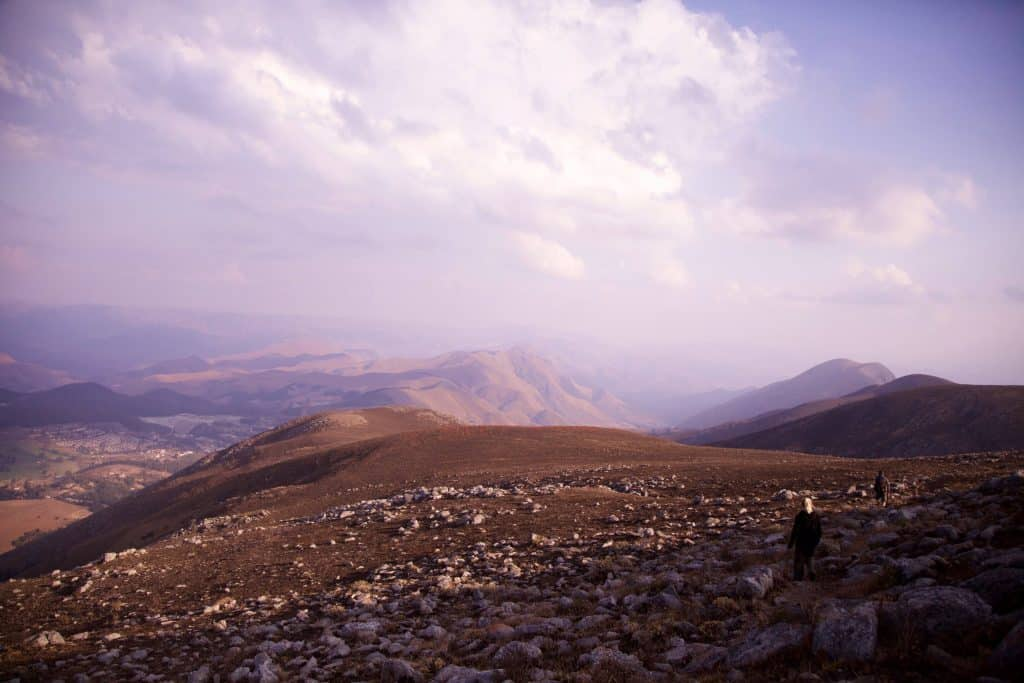 Climbing the highest peak in Swaziland