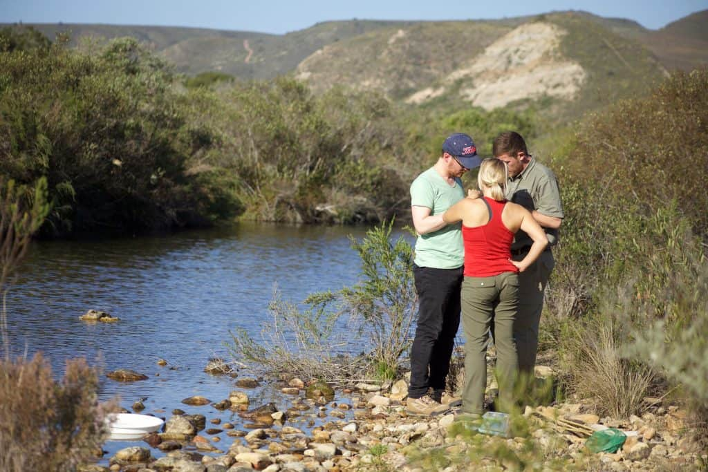 Water Assessment, part of ecotourism in South Africa
