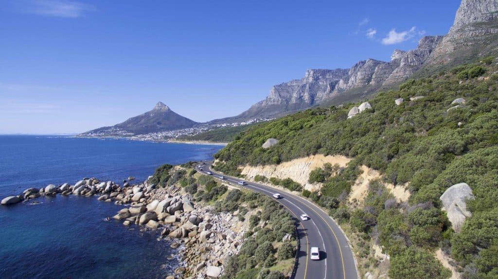 Beautiful Cape Town Drive