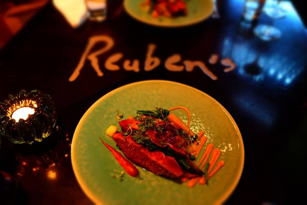 Eating at Ruebens One and Only