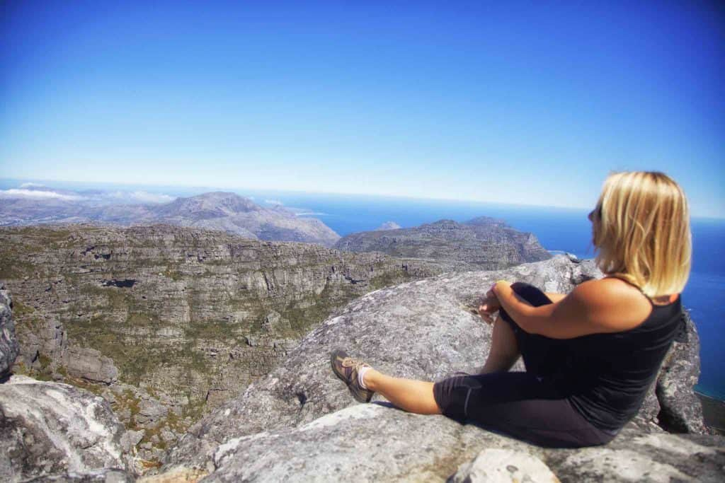 romantic activities in Cape Town - Table Mountain
