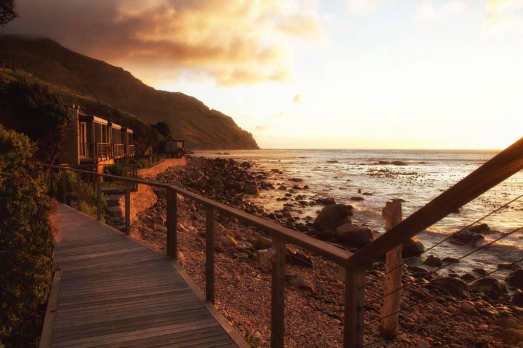 Sunset over the Tintswalo Atlantic