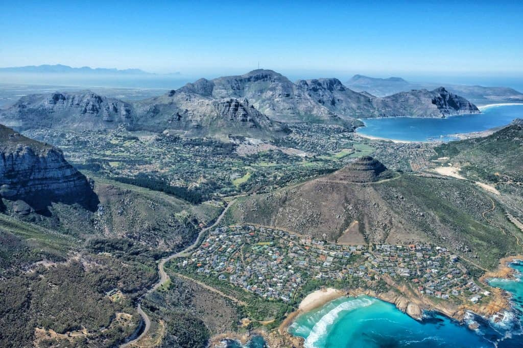 Lion's Head From Above