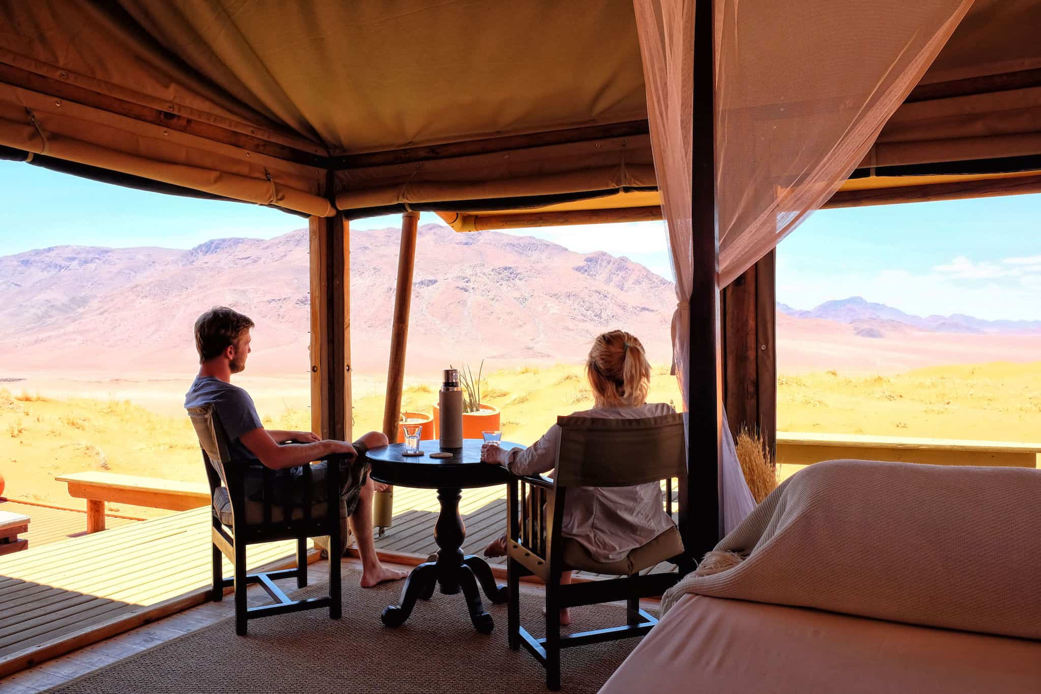 Dunes Lodge in Namibia