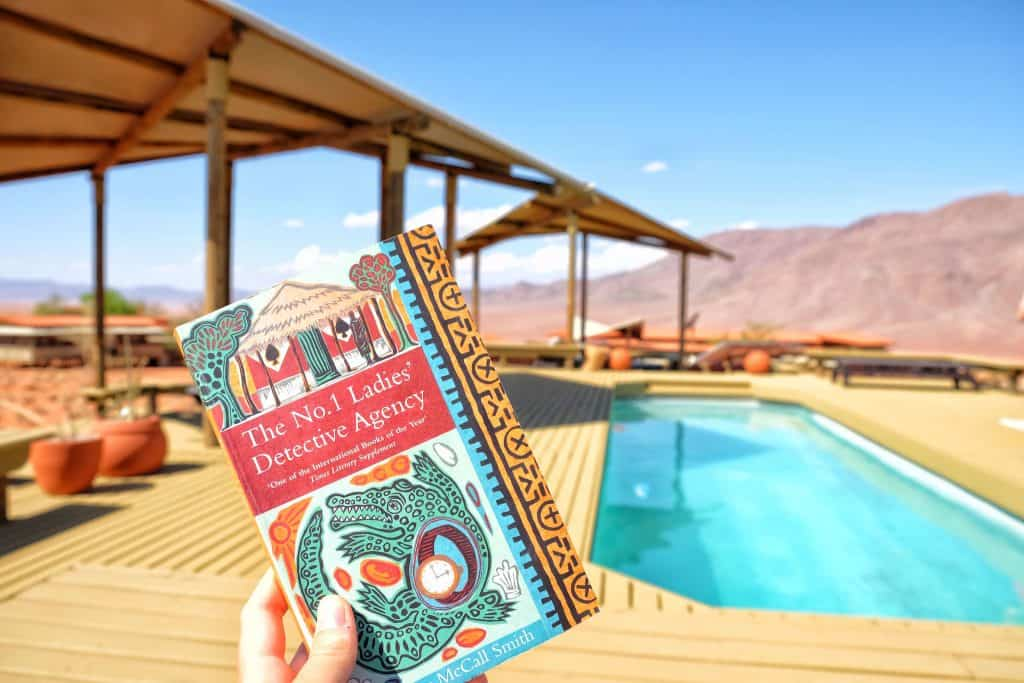A book in Namibia