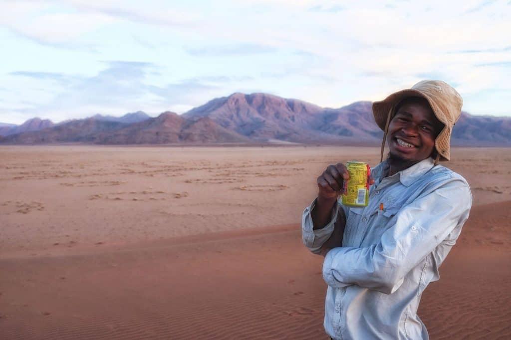 Bino in Namibia