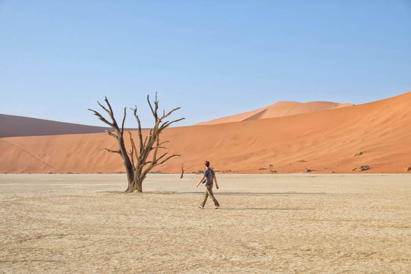 Exploring Deadvlei