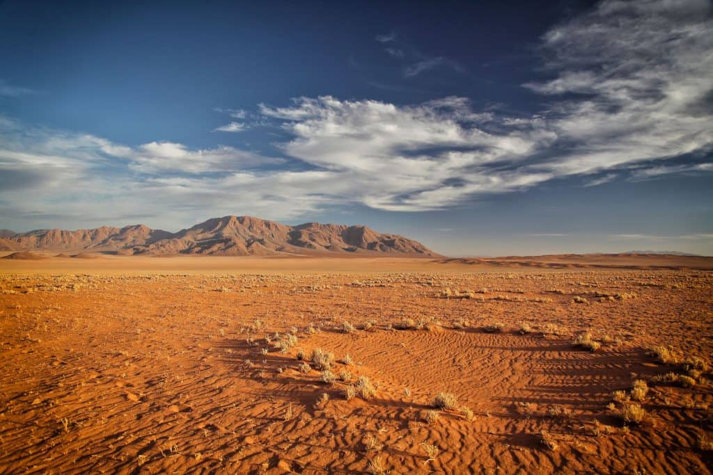 Fairy Circle in Namib Desert