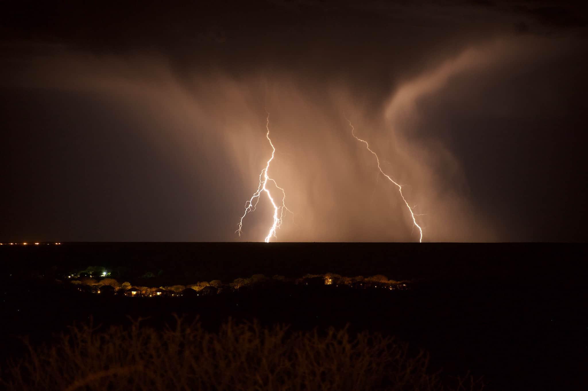 Thunderstorm Over Etosha