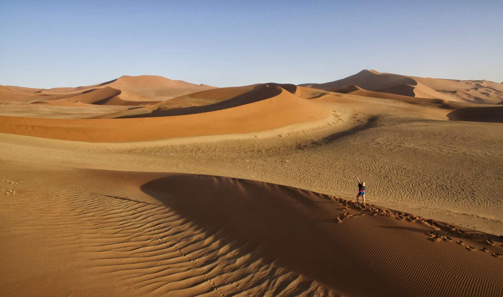 Dunes in Sossusvlei