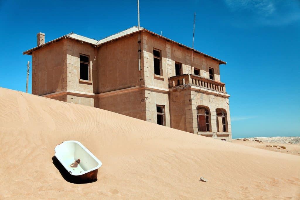 Kolmanskop Bathtub Dune