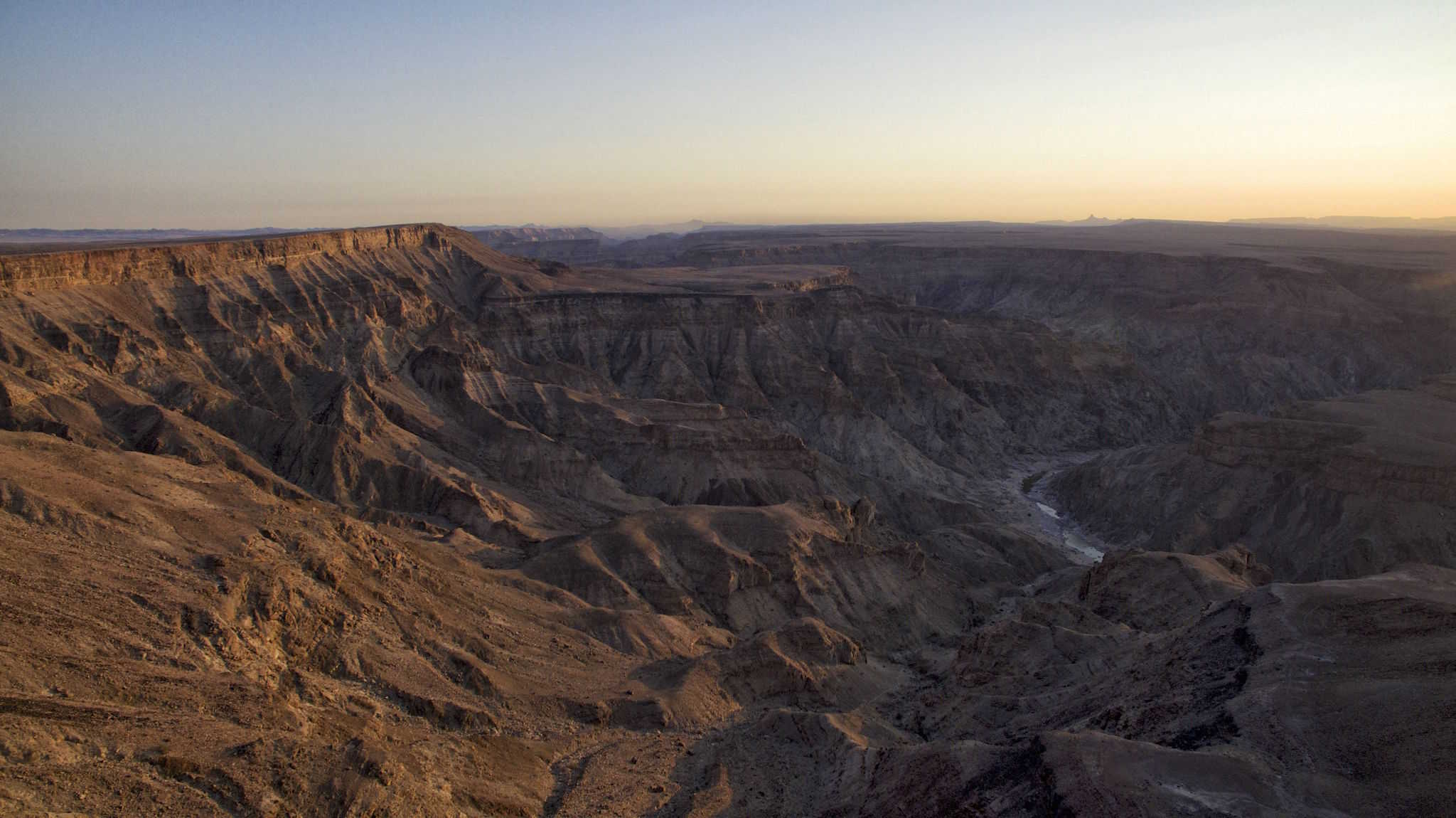 Fish River Canyon Drone Africa Bucket List