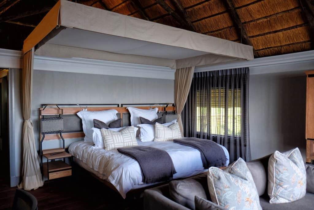 Bed time at Chobe Water Villas