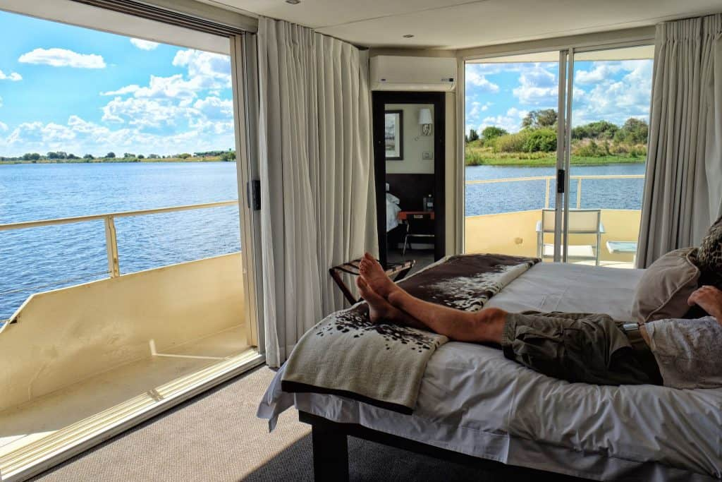 Zambezi Queen Bedroom