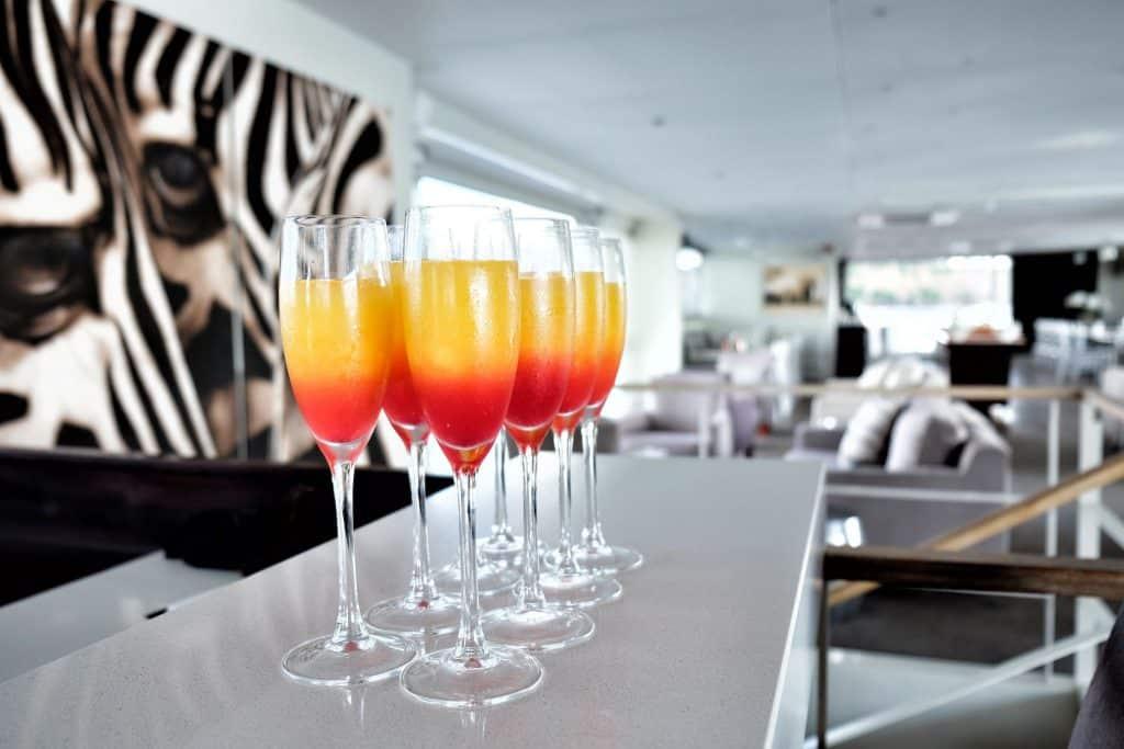 Welcome Drink Zambezi Queen