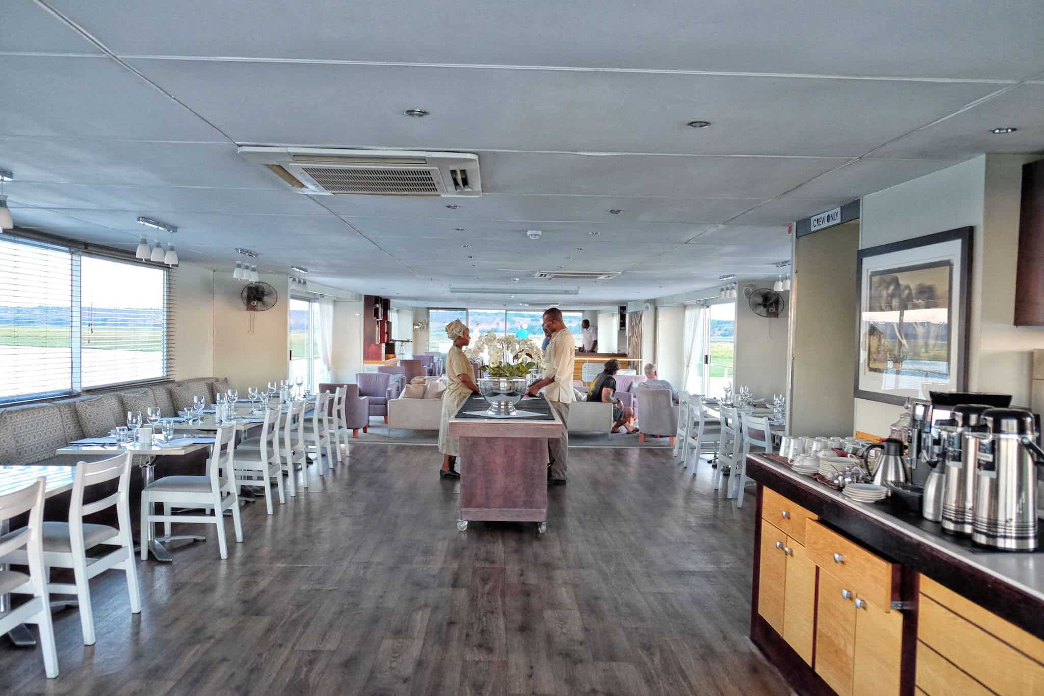 Zambezi Queen Main Galley