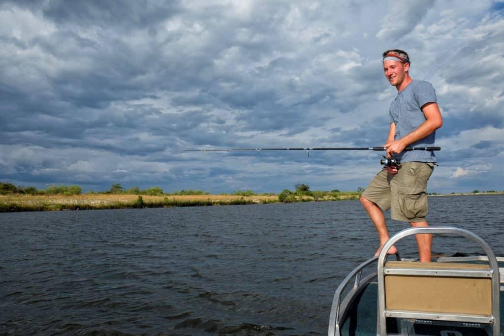 Tiger Fishing Chobe River