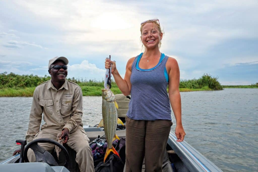 Tigerfish on the Chobe River With Zambezi Queen