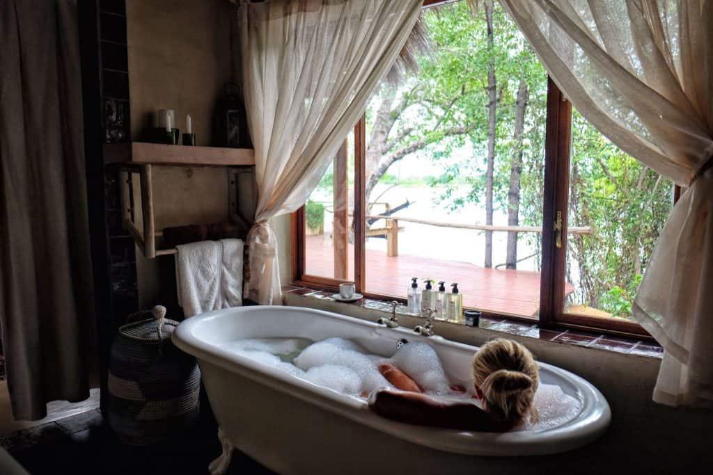 Tongabezi Bath