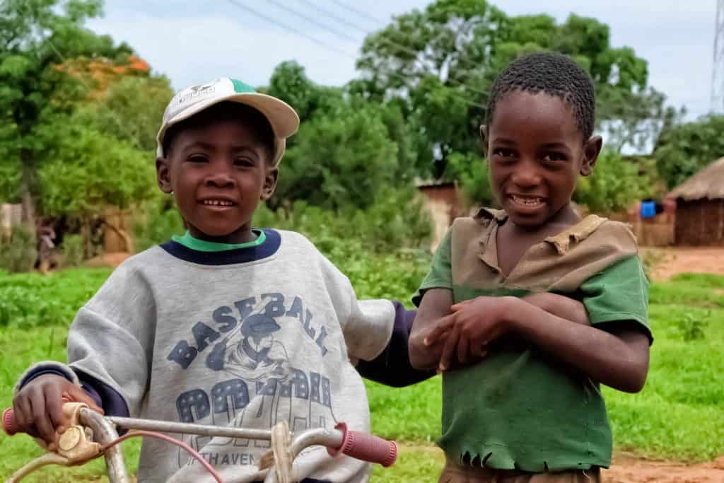 Friendly Children in Zambia