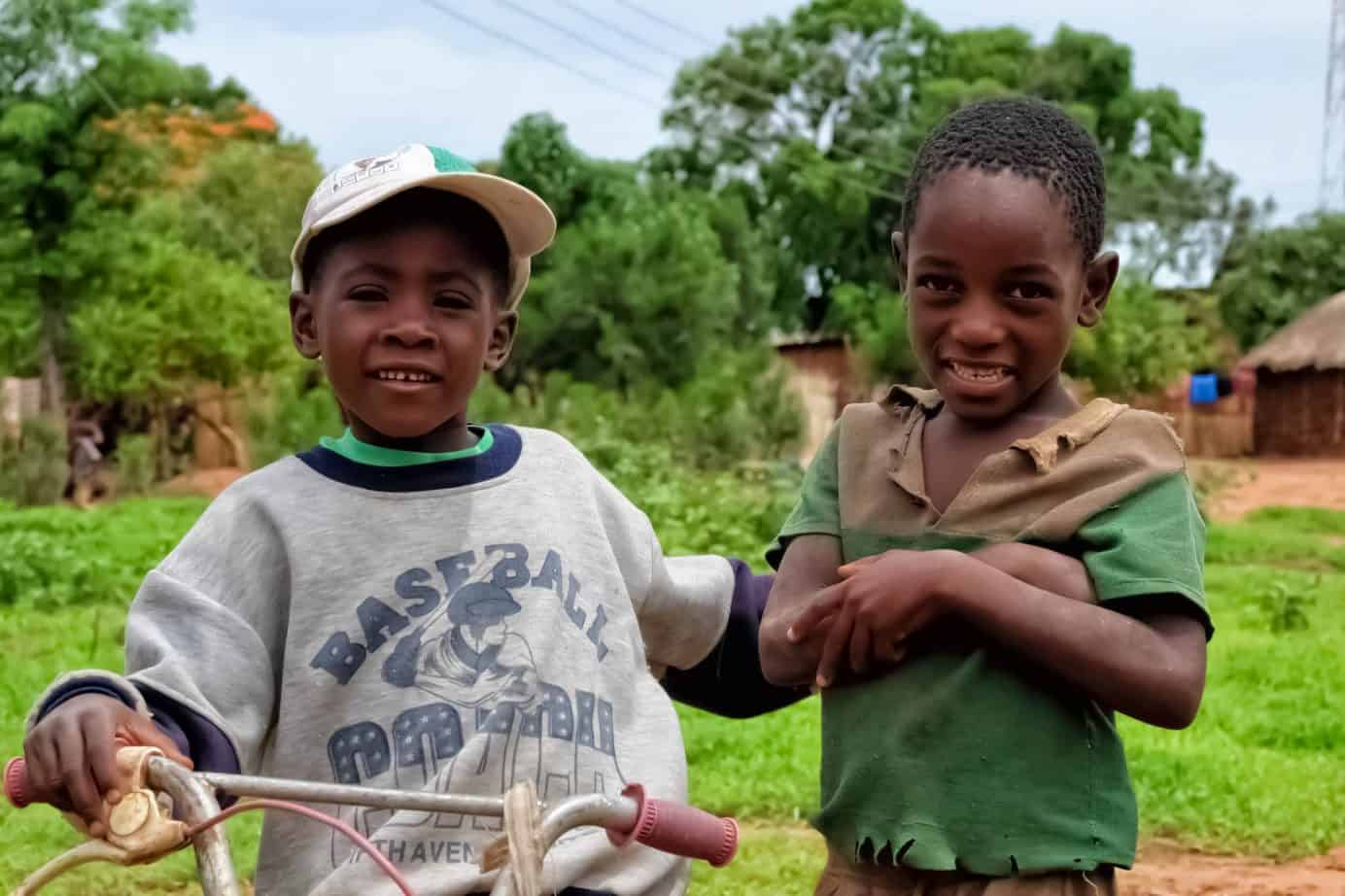 Friendly Children in Zambia