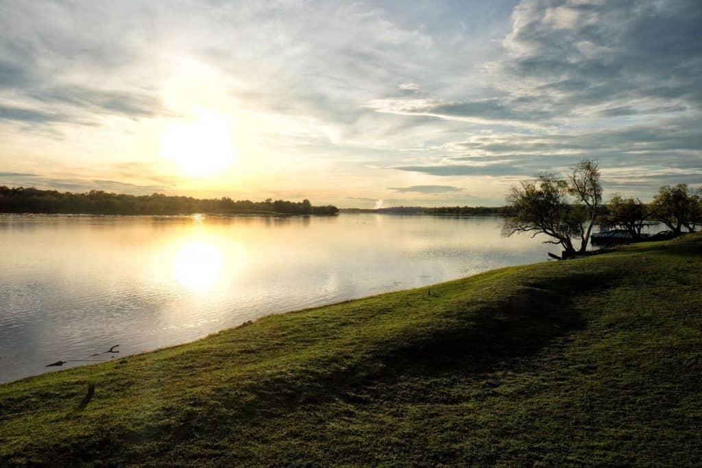 Sunsets in Zimbabwe