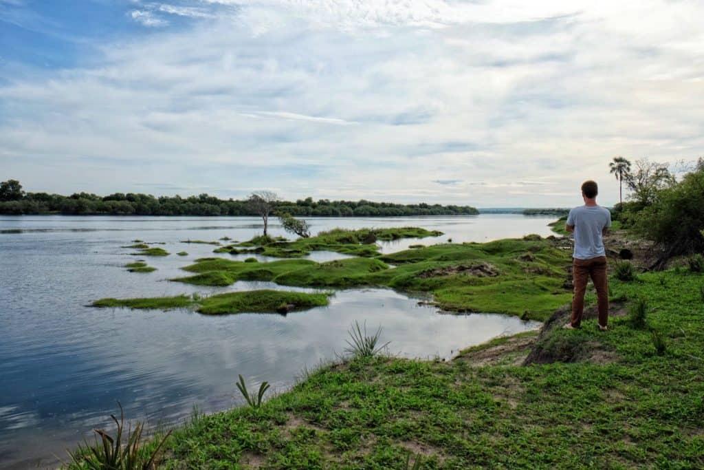 Sunrise over the Zambezi