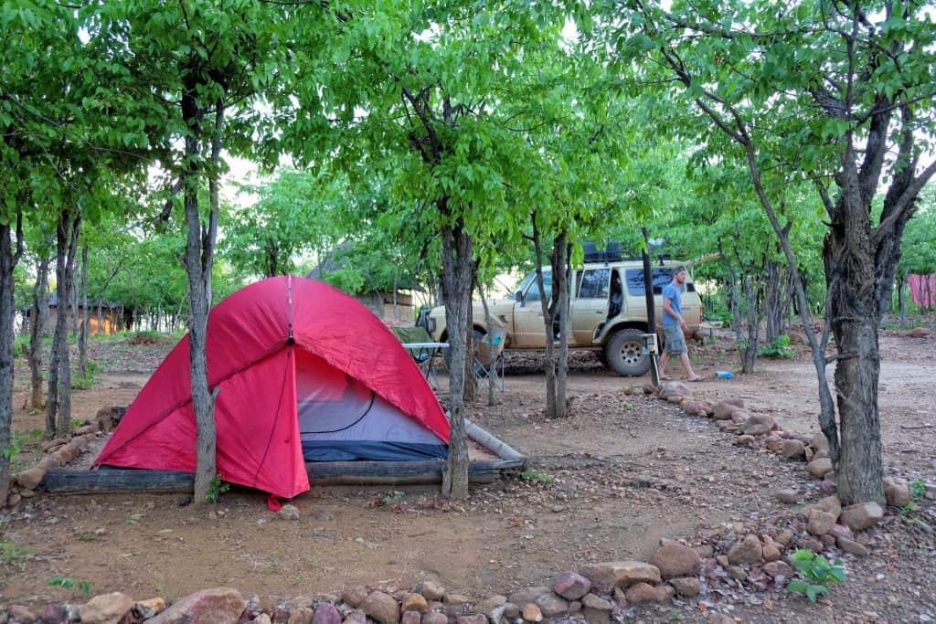 campingin Zimbabwe