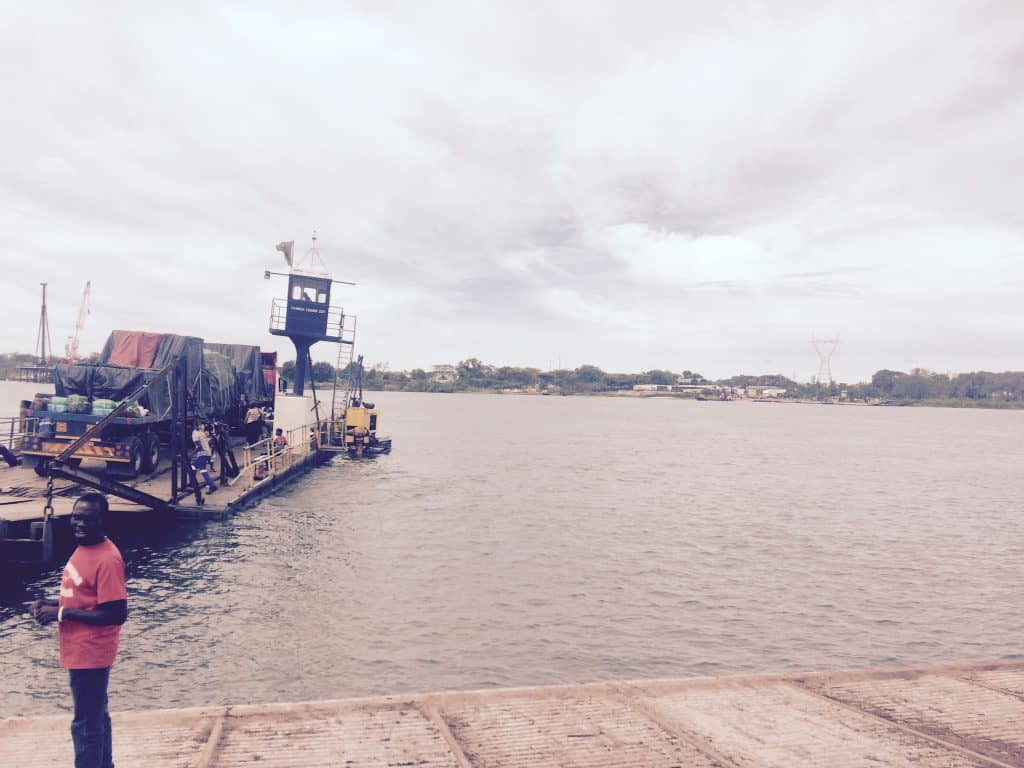 The Kazungula Ferry Crossing