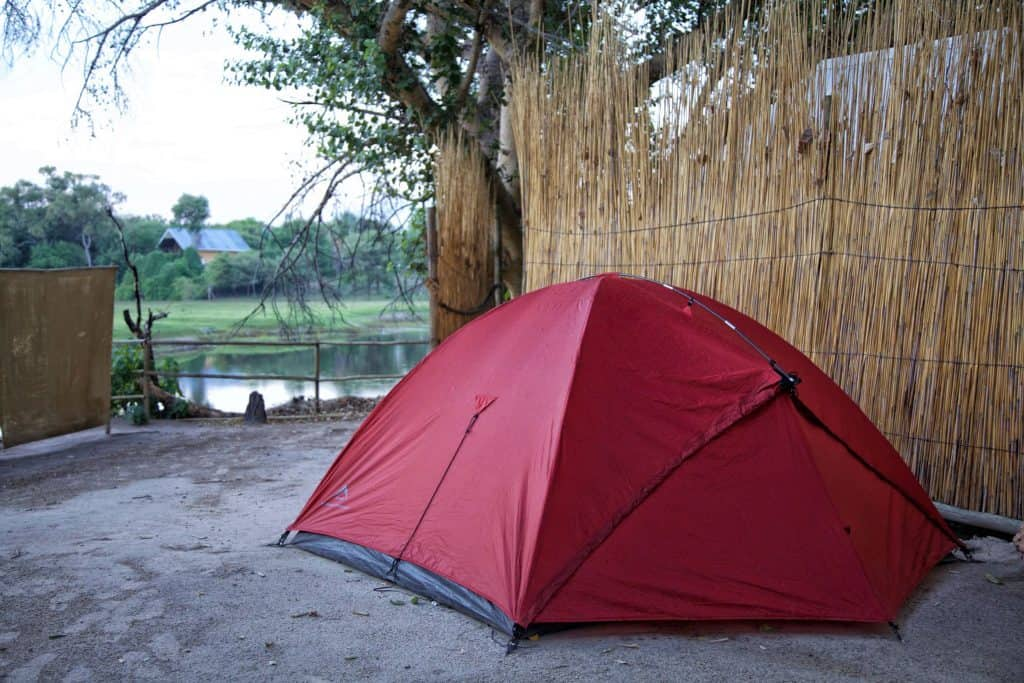africa Camping in Maun