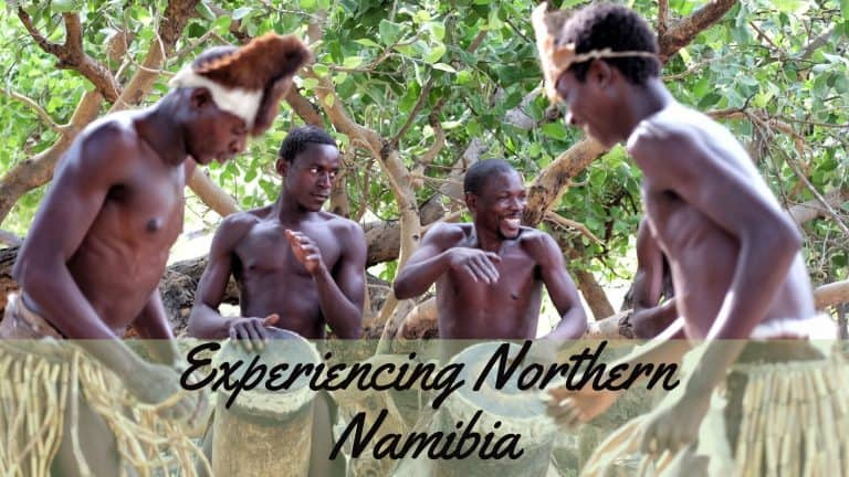 Northern Namibia Road Trip Route