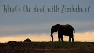 Traveling in Zimbabwe