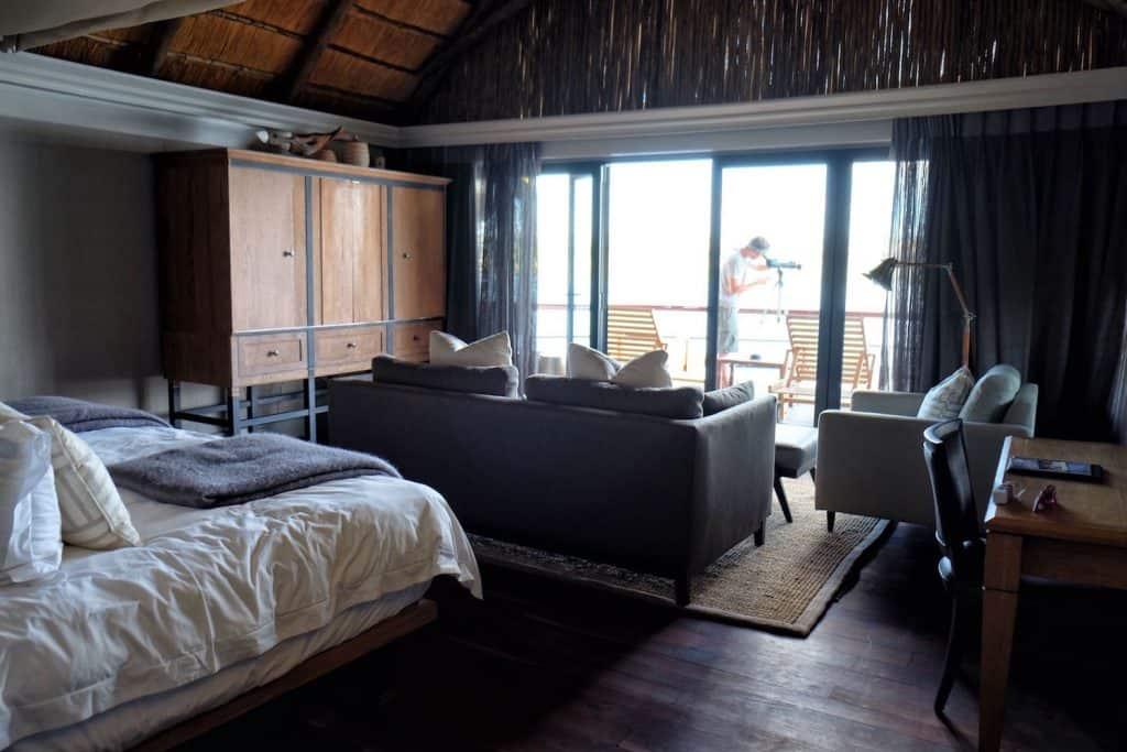 telescope-in-the-room Chobe Water Villas