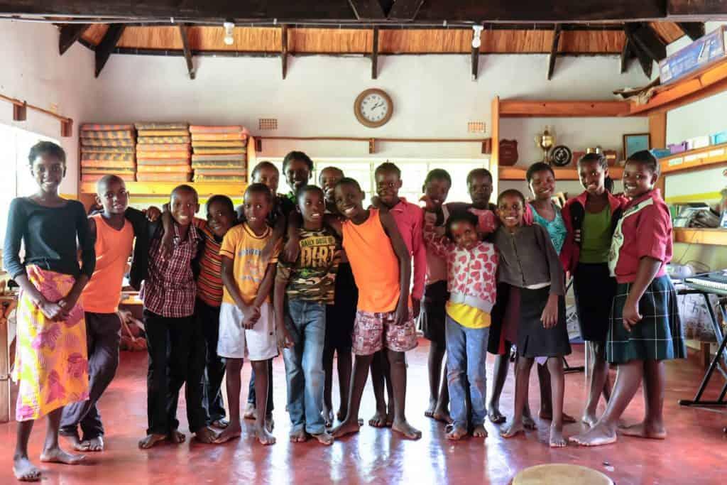 Kids at Tujatane