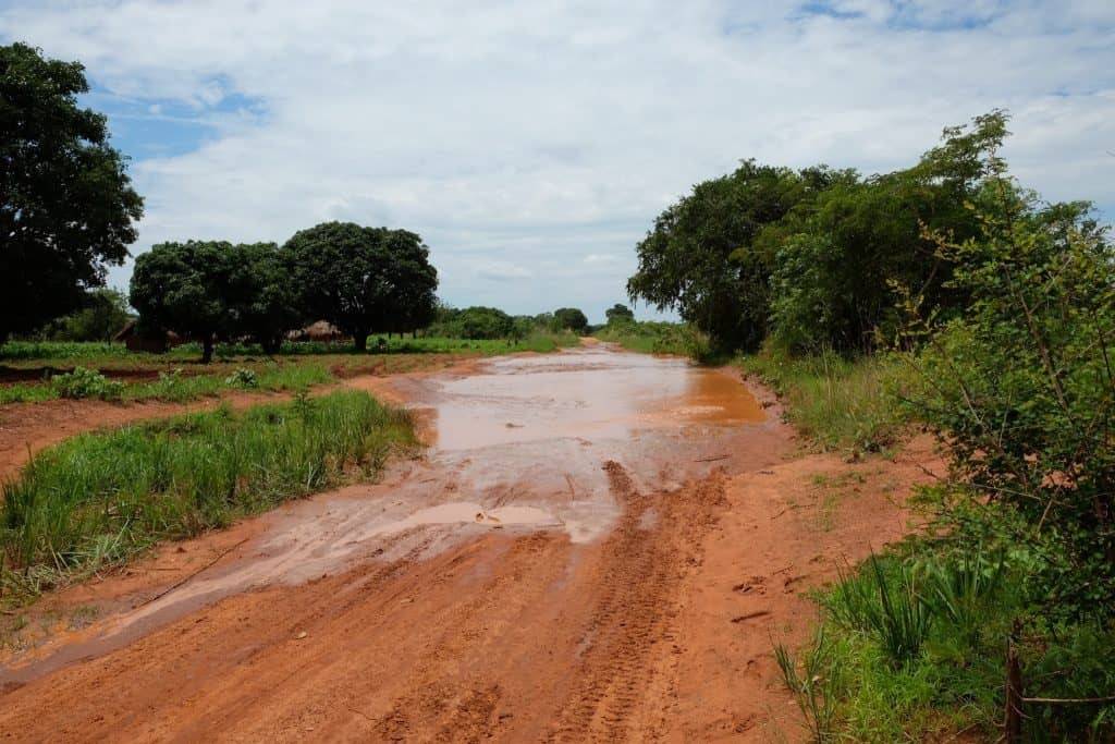 driving in zambia