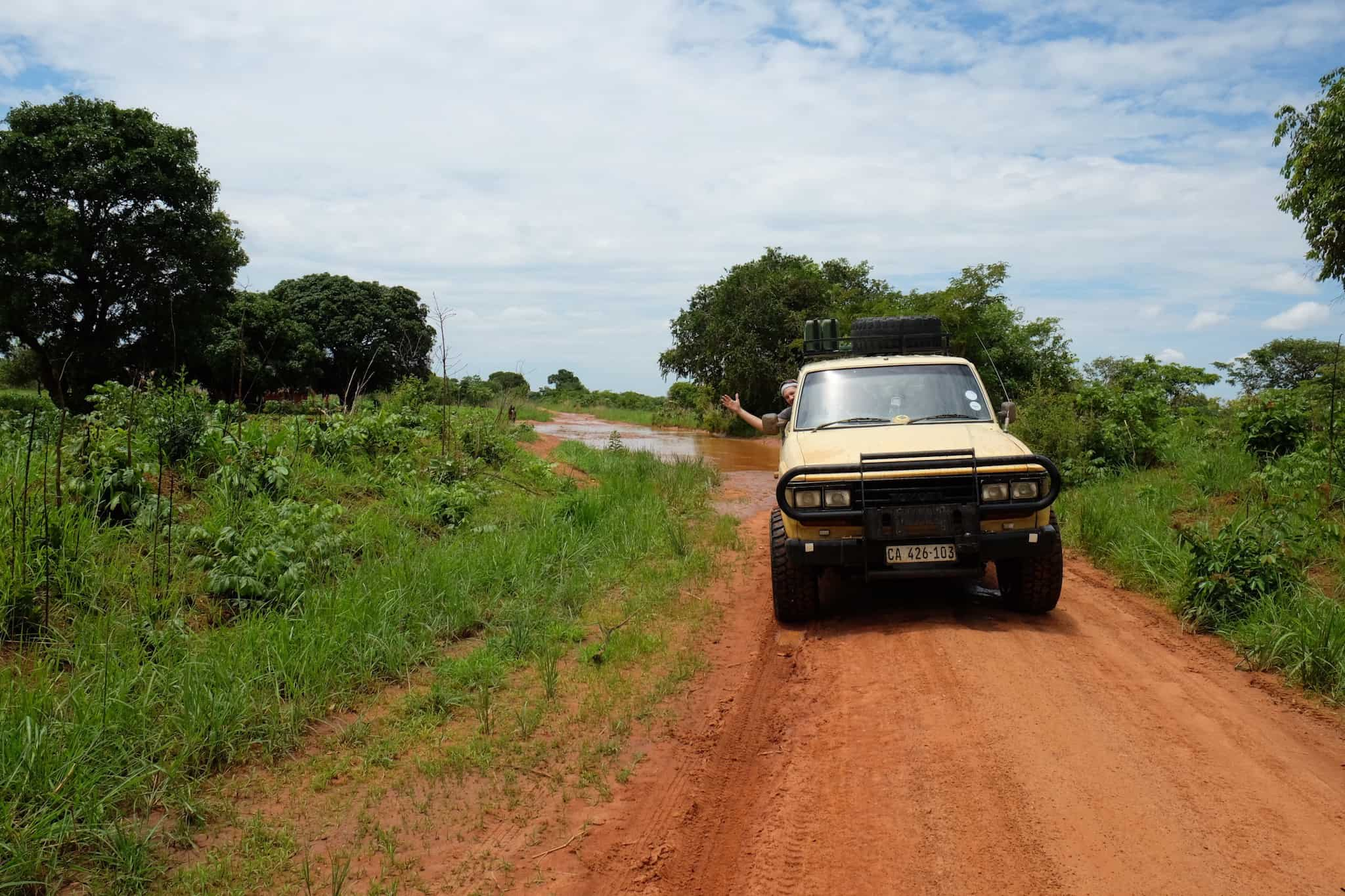 South Luangwa Wet Roads