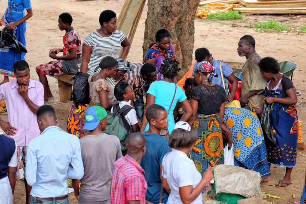 People everywhere in Malawi