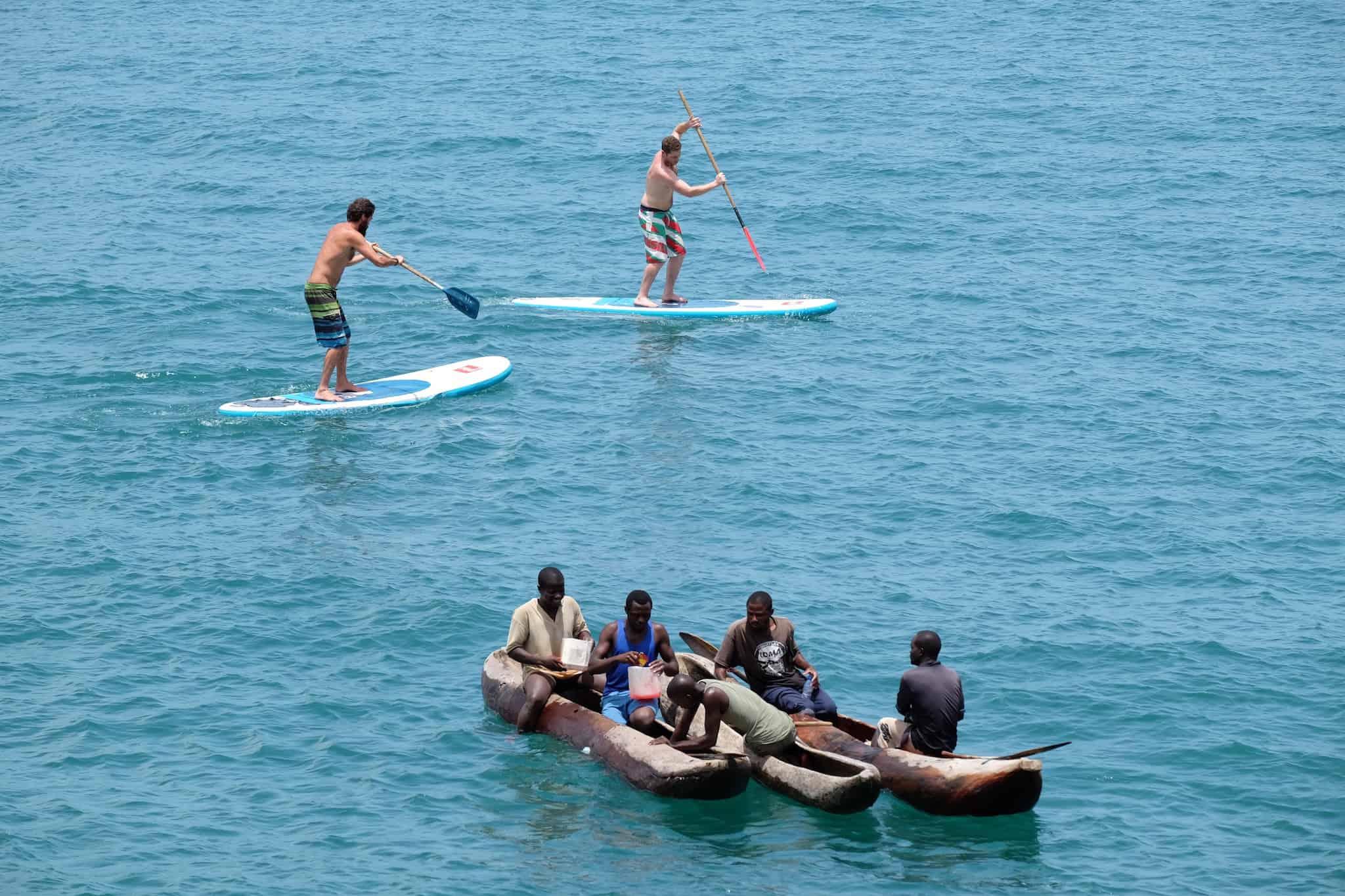SUP in Malawi