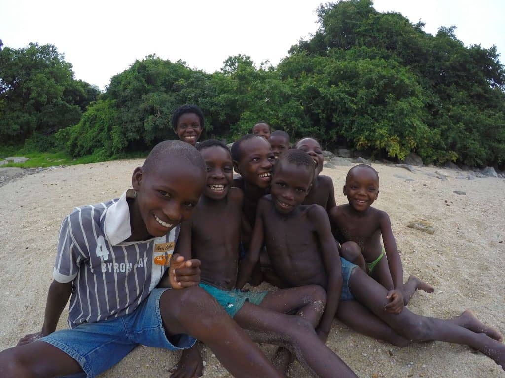 Kids in Malawi