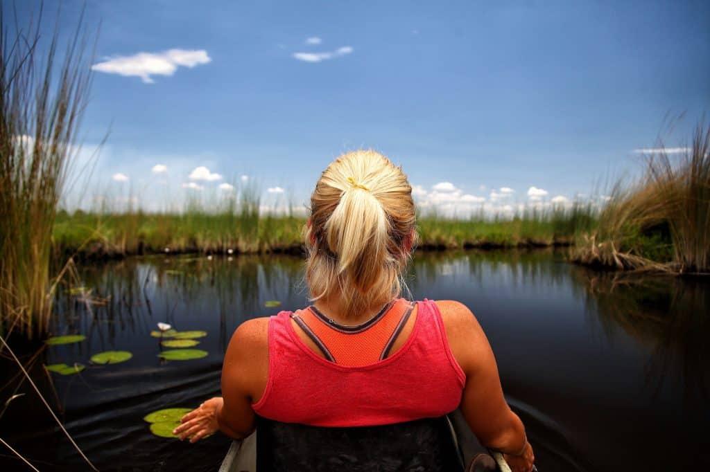 Mokoro Rides on the Okavango Delta