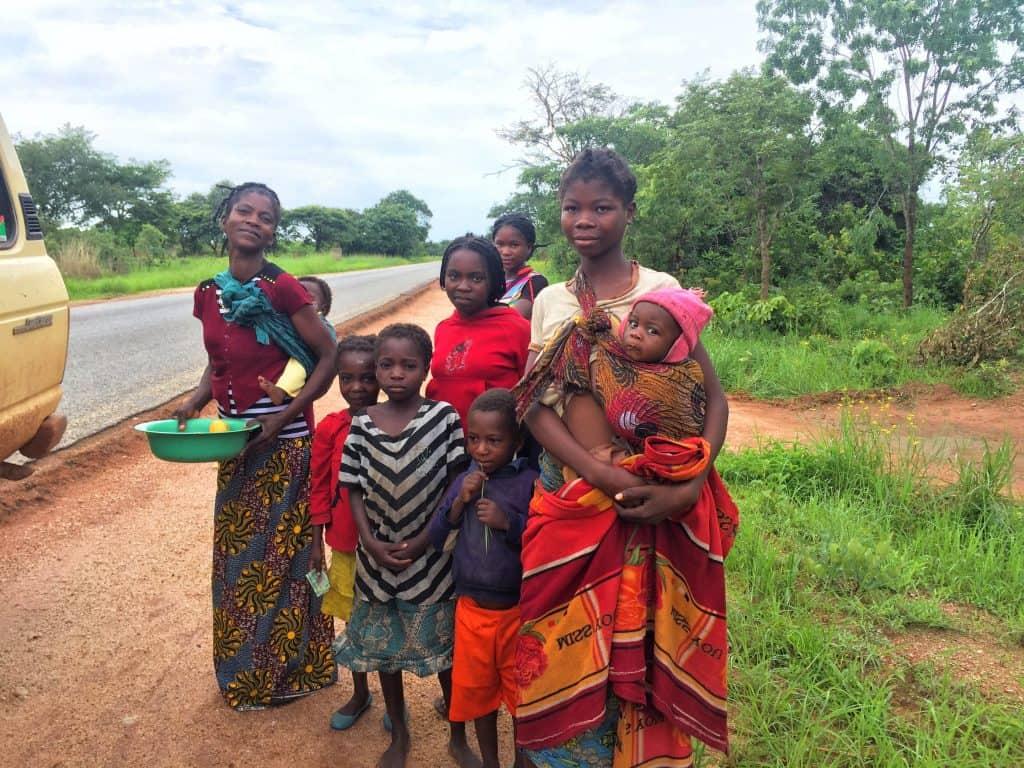 Getting Mangos in Zambia
