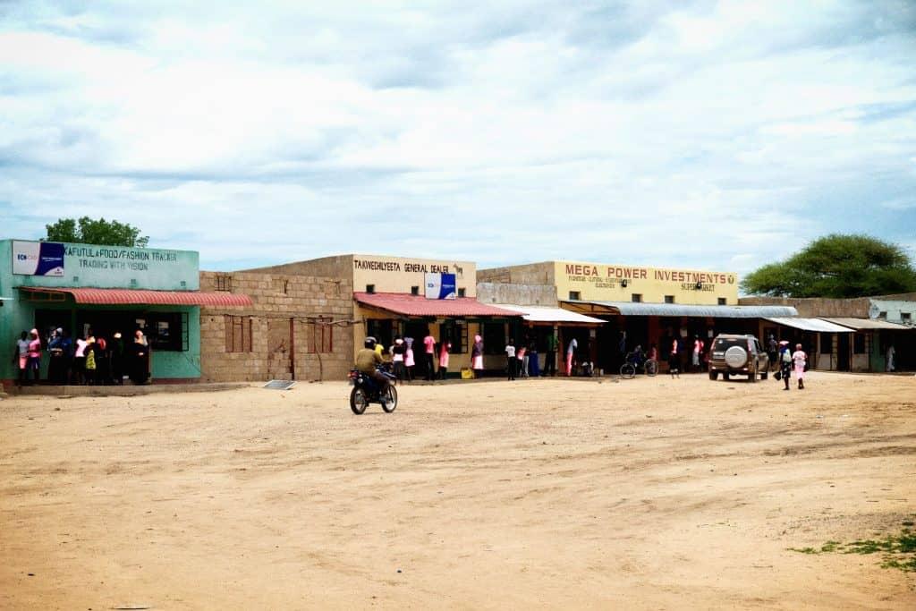 Small Town Zimbabwe