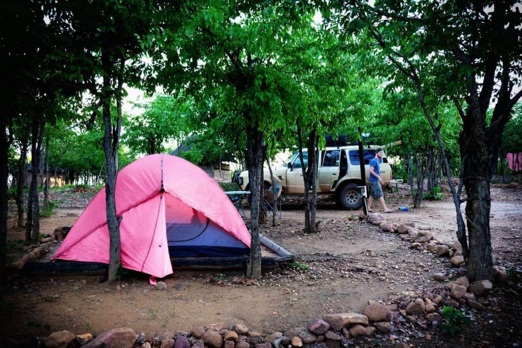 Camping Lake Kariba