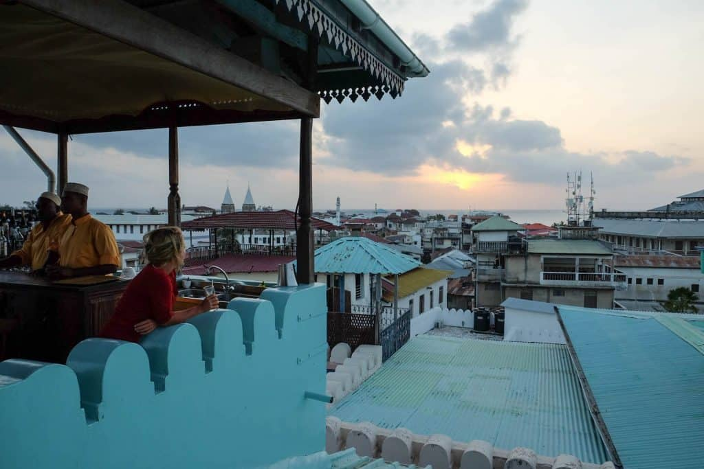 The Tea House in Zanzibar