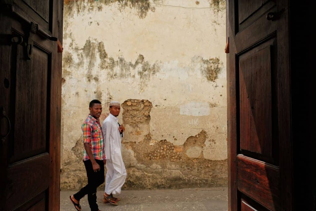 People of Zanzibar