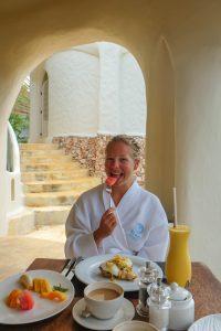 Breakfast at Kilindi The Best Hotels In Zanzibar