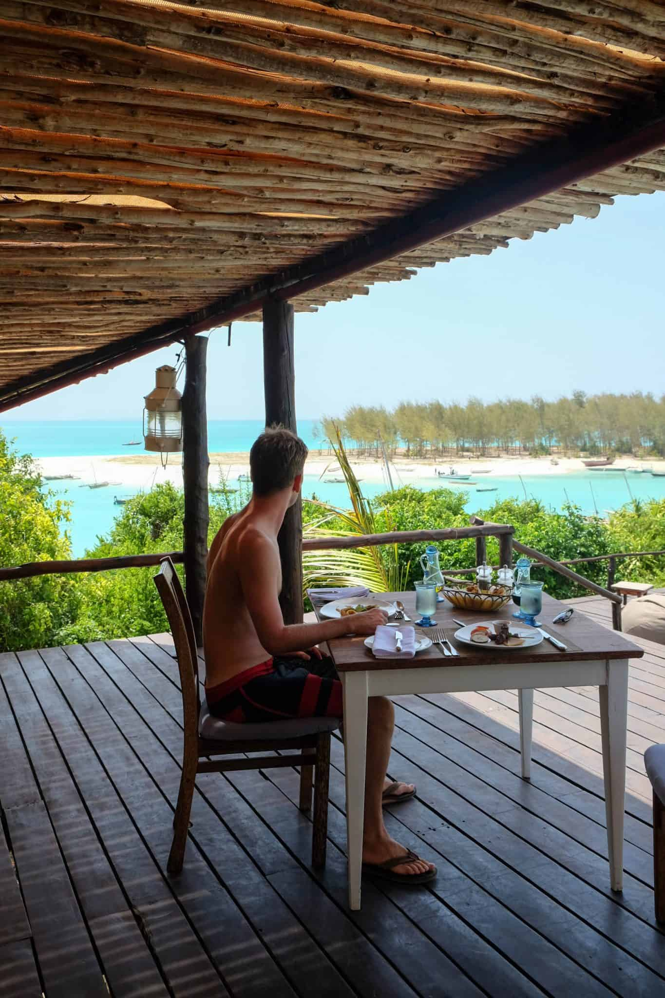 Breakfast at Kilindi Zanzibar The Best Hotels In Zanzibar