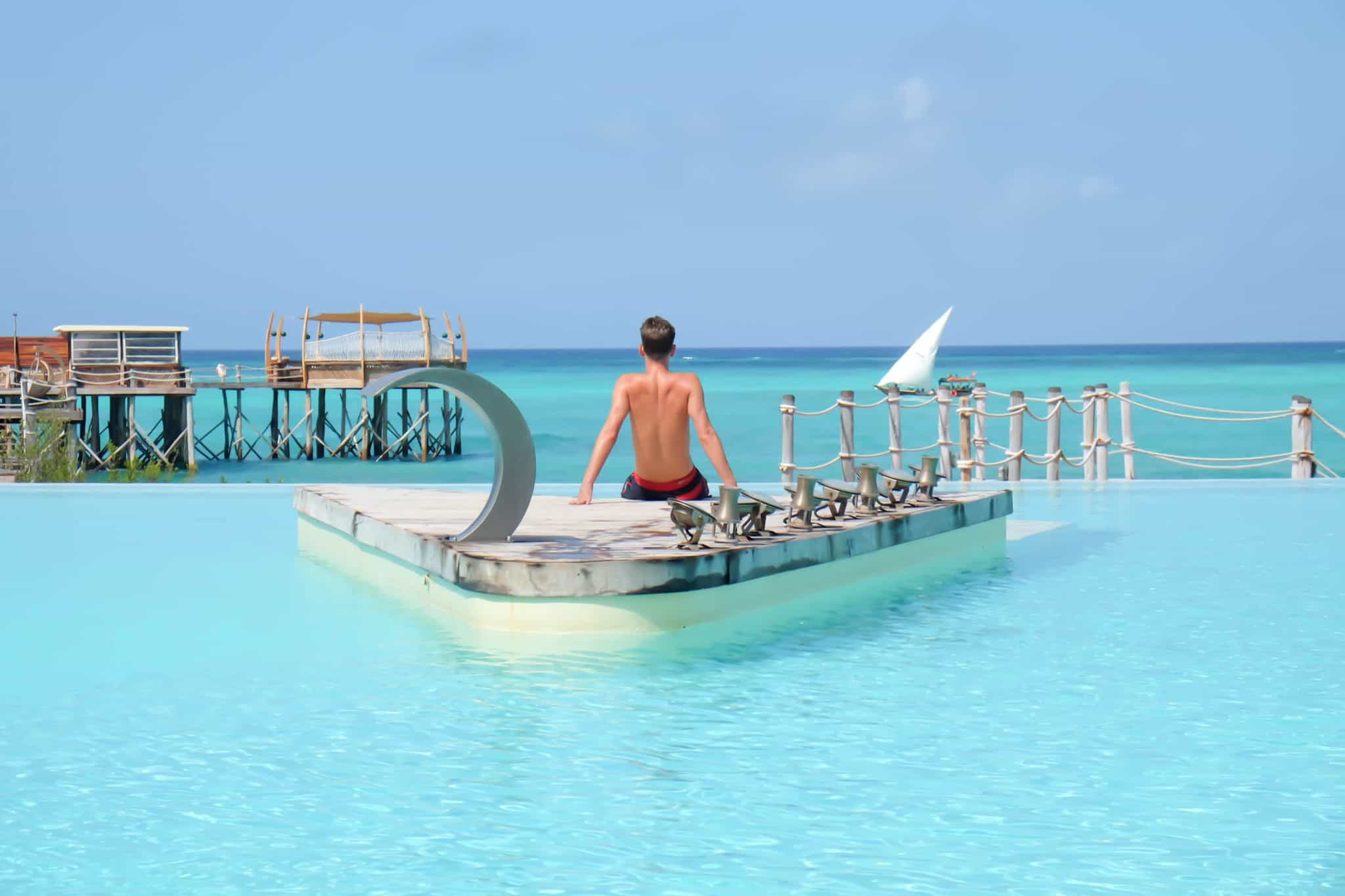 Essque Pool The Best Hotels In Zanzibar
