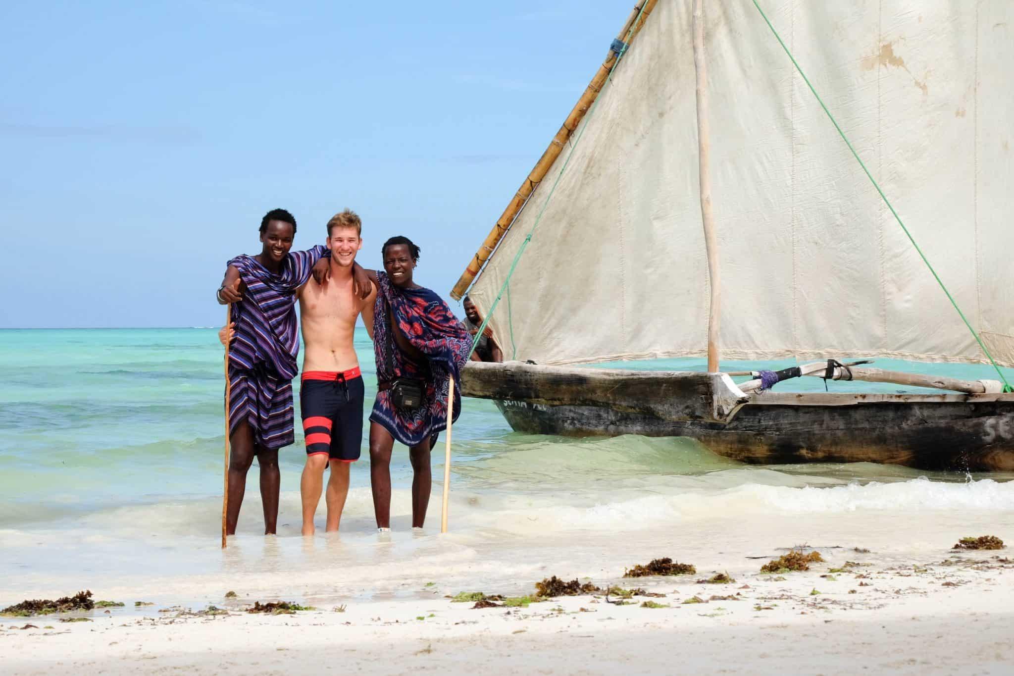 Cam and the Maasai
